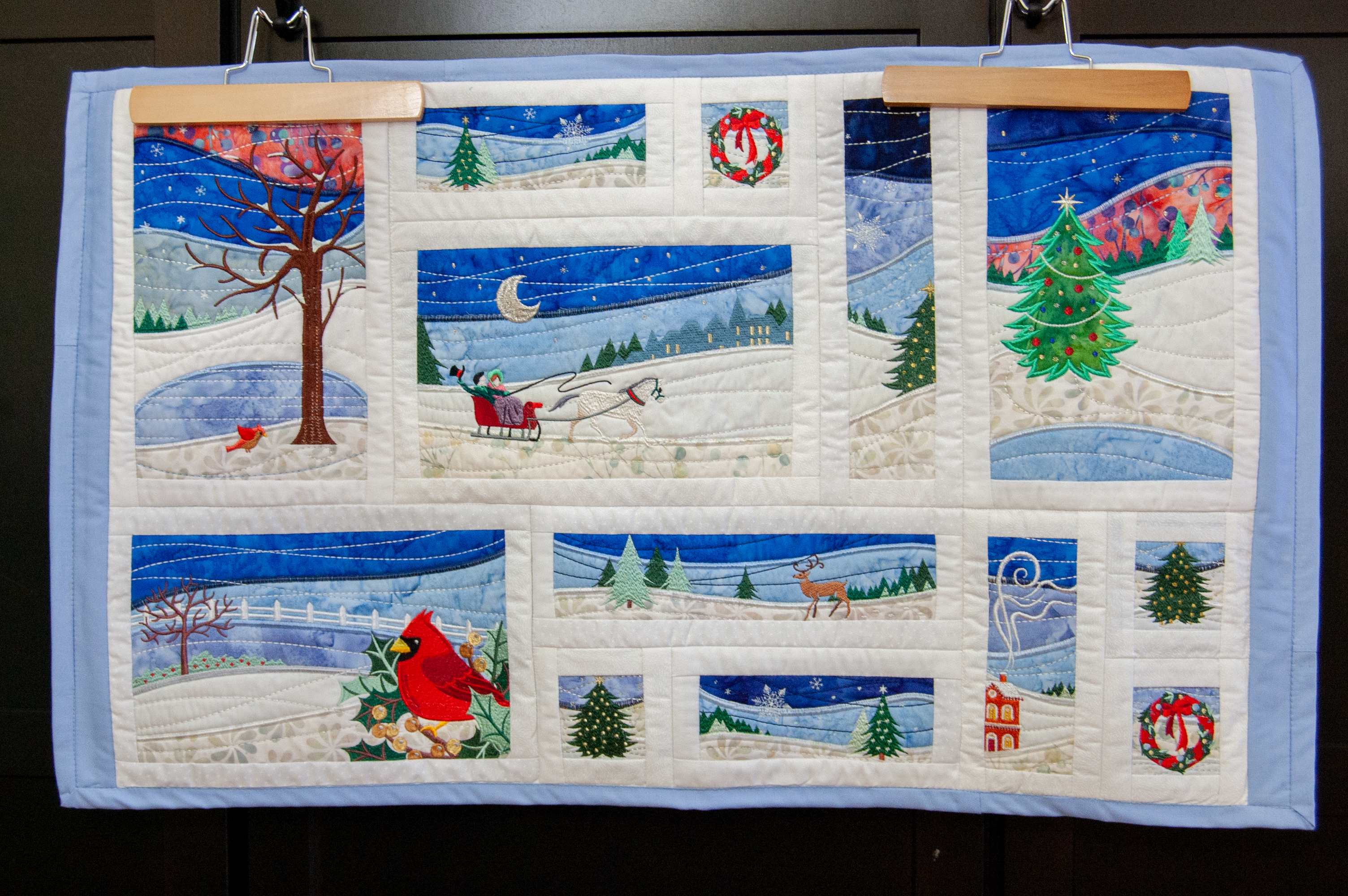 Landscape Christmas Table Topper-1